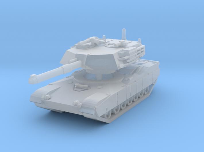 M1 Abrams Tank 1/200 3d printed