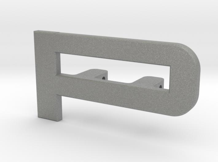 Cupra Lower Grill 'P' 3d printed
