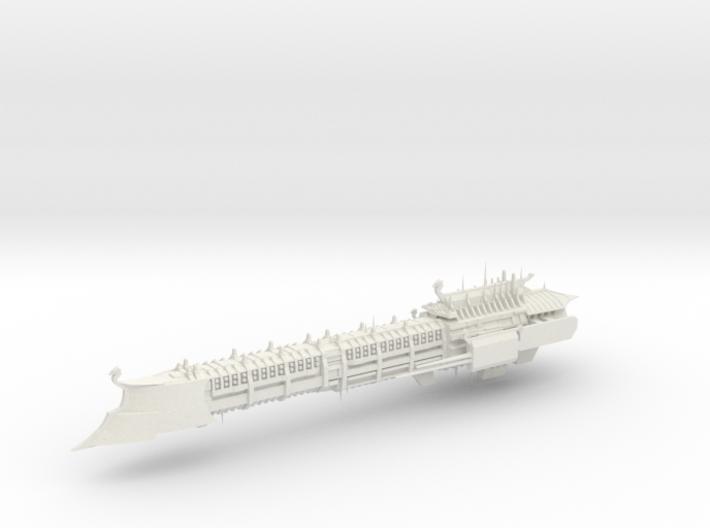 Imperial Legion Long Cruiser - Armament Concept 16 3d printed