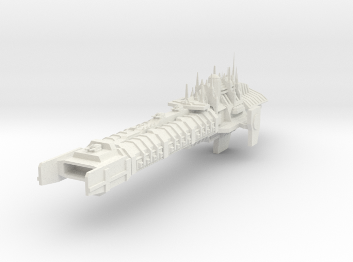 Imperial Legion Concept - Battlebarge 3d printed