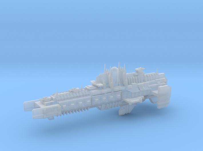 Imperial Legion - Battlebarge - Stoke Concept 1 3d printed