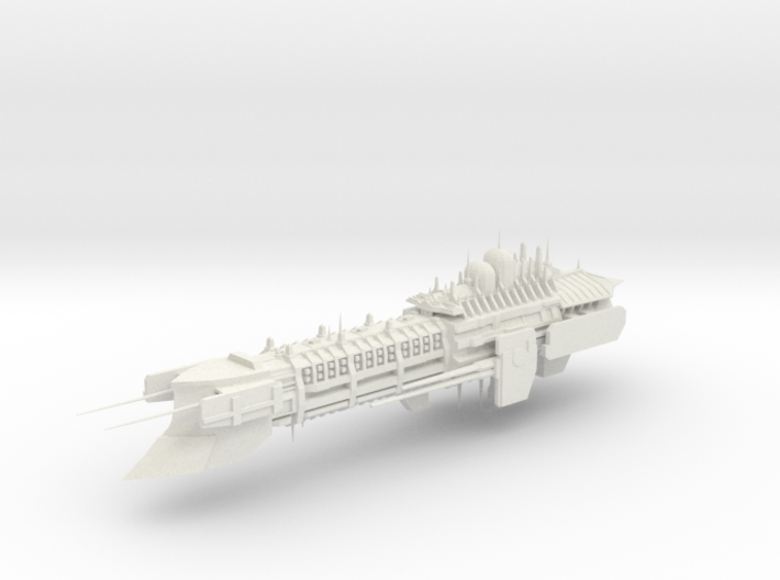 Imperial Legion Super Cruiser - Armament Concept 5 3d printed