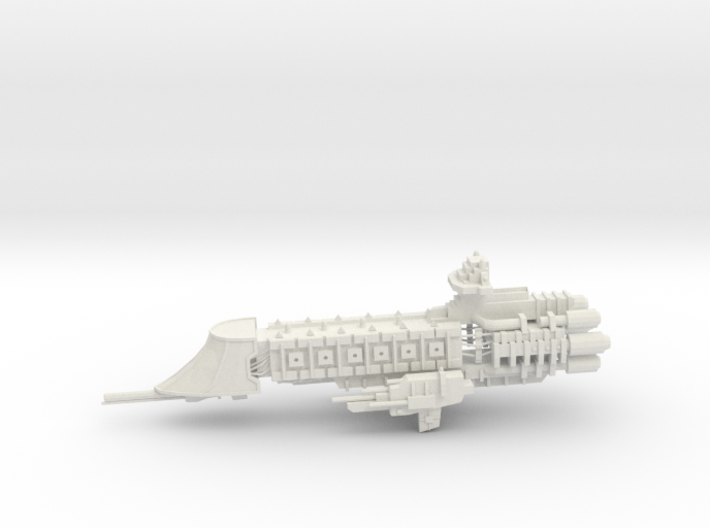 Imperial Frigate - Concept 1 3d printed