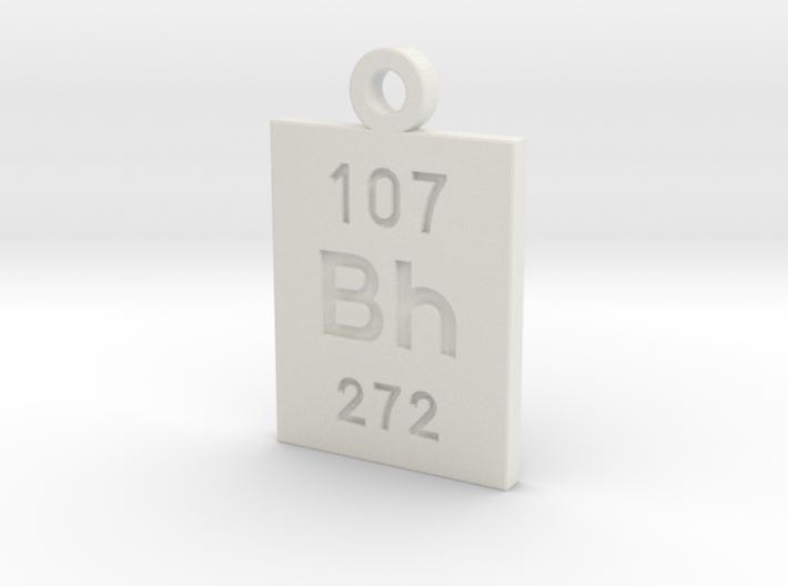 Bh Periodic Pendant 3d printed