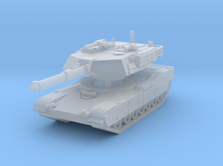 M1A1 Abrams Tank 1/144 3d printed
