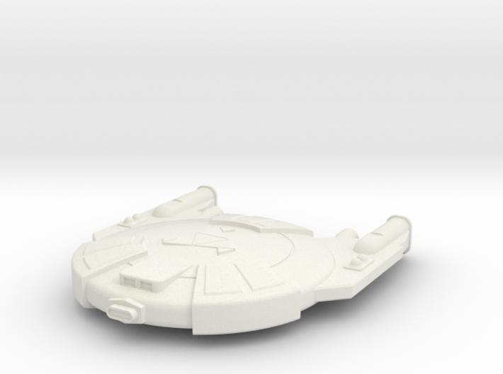 3125 Scale Andromedan Viper Frigate SRZ 3d printed