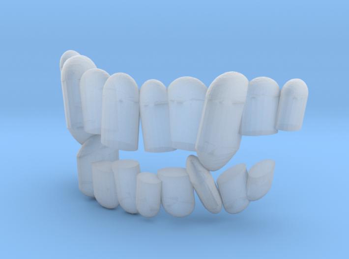 Fabulous Elzing aka 6in scale teeth. 3d printed