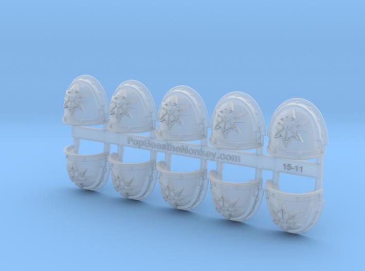 Children of Torment- G3 Shoulder Pads x10 3d printed