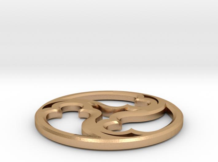Triskele Pommel Marker 3d printed
