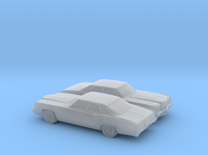 1/160 2X 1972 Pontiac Catalina Sedan 3d printed