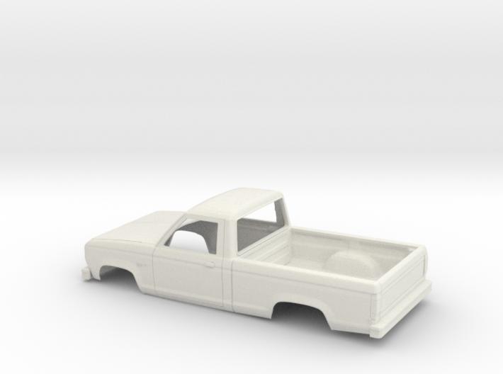 1/24 1983-88 Ford Ranger Reg Cab Shell 3d printed