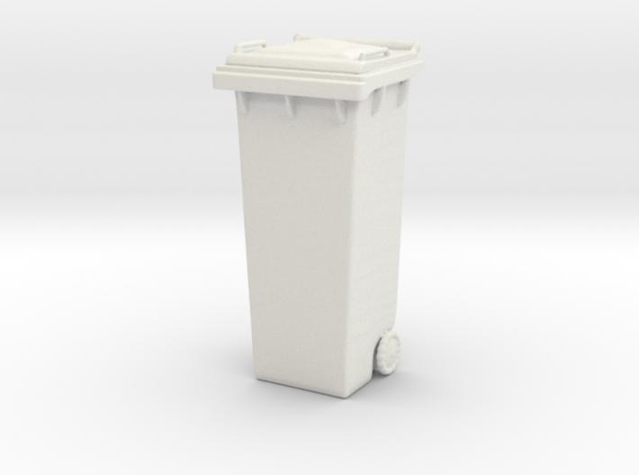 Printle Thing Garbage Bin - 1/24 3d printed