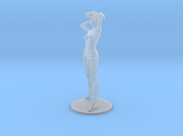 1/48 Race Queen Asuka w Base 3d printed