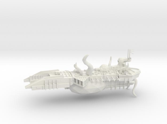 Possessed Chaos Capital Ship - Despoiler 3d printed