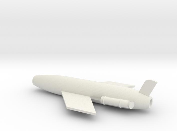 1/96 Scale SSM-N-8A Regulus I Missile 3d printed