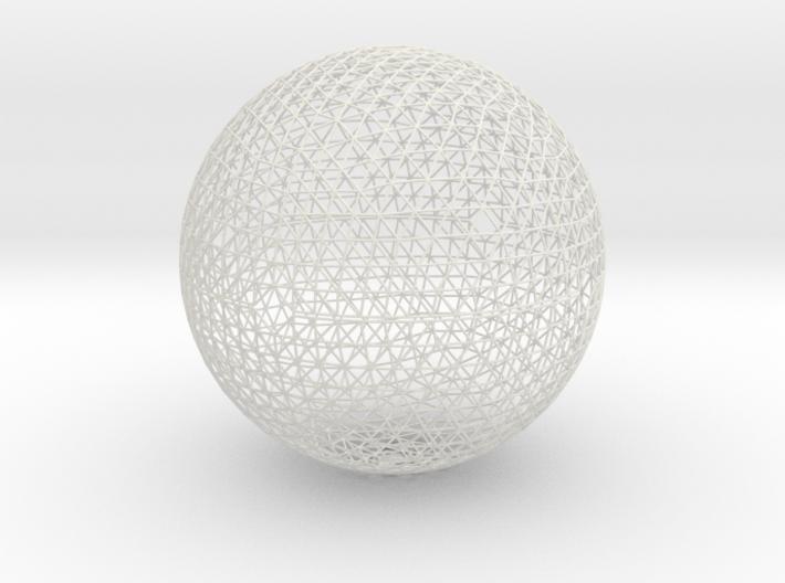 Geodesic sphere, 335 mm 3d printed