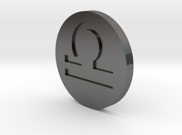Libra Coin 3d printed