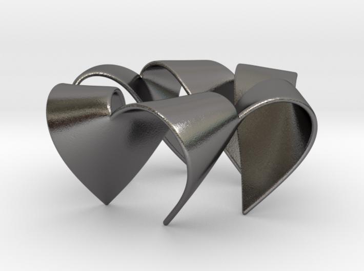 Folded Hexagram 2 3d printed