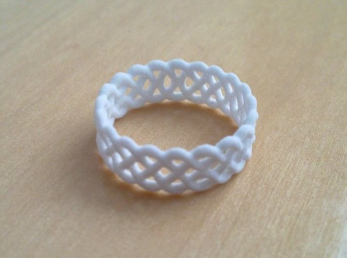 Celtic Ring - 17mm ⌀ 3d printed