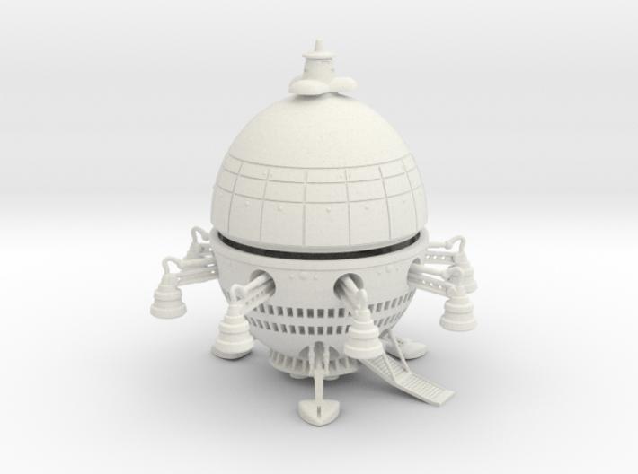 SMALL ET Type Ship Kit 3d printed