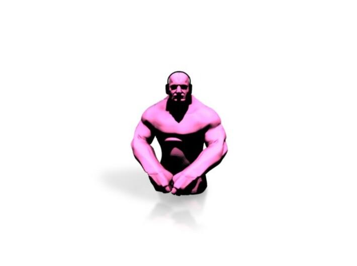 Small Grappler - Pink 3d printed