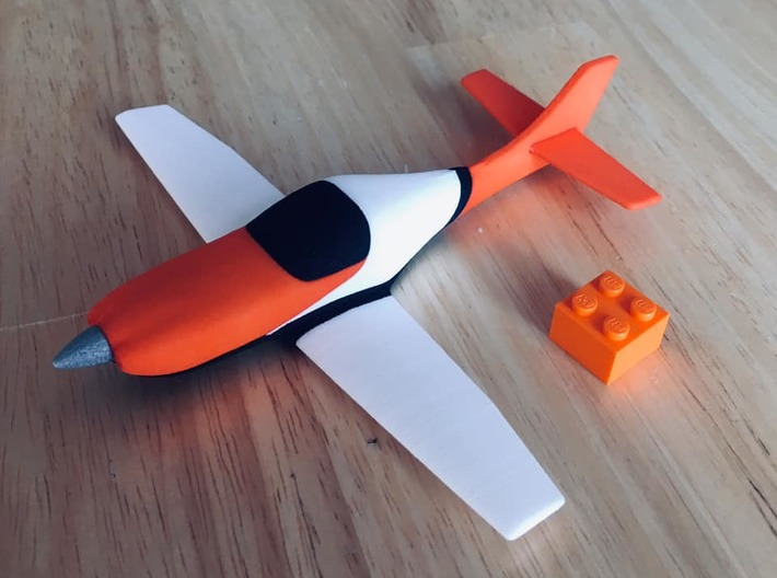 Lancair Legacy #30 wing RH (clipped) 3d printed