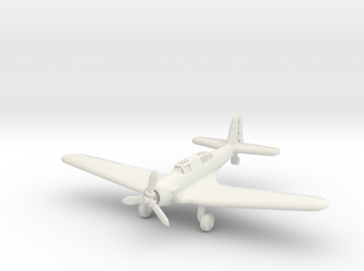 Northrop A-17A Nomad (Landing Gear extended) 1/285 3d printed
