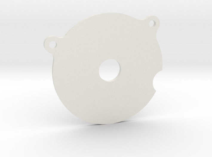 Spur Gear Large Cover Plate 3d printed