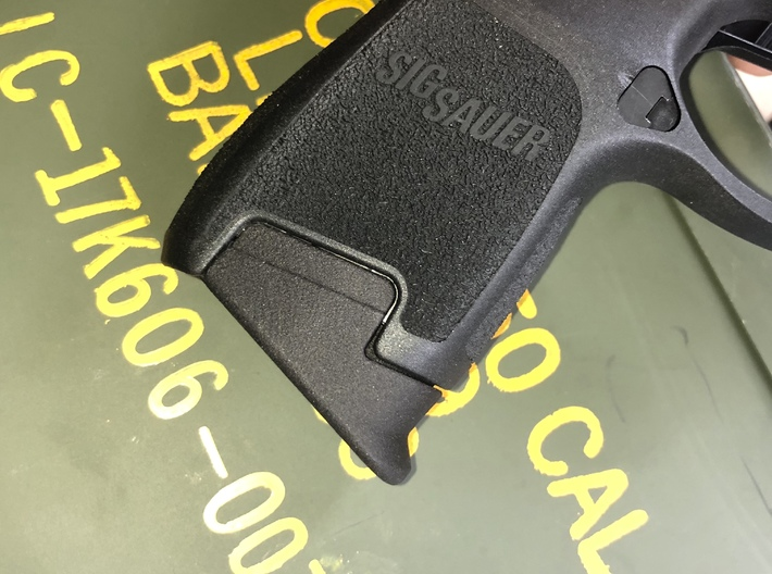 .45 Subcompact Pinky Extension for SIG P320sc 3d printed