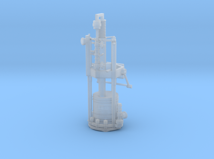 1:72 correct gyroscope for the SS-25 Topol launche 3d printed