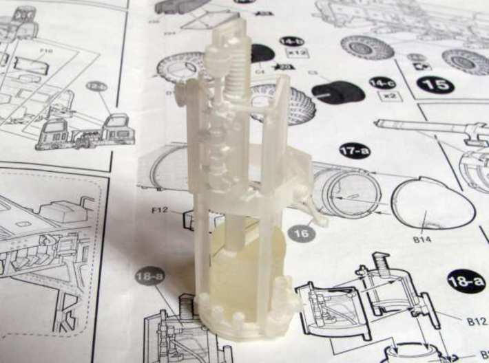 1:72 correct gyroscope for the SS-25 Topol launche 3d printed Gyro as delivered