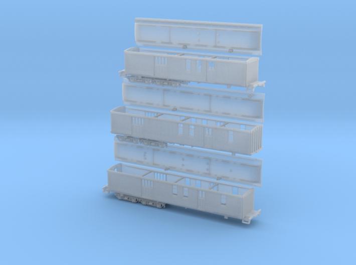 RPO Set 60 63 64 3d printed