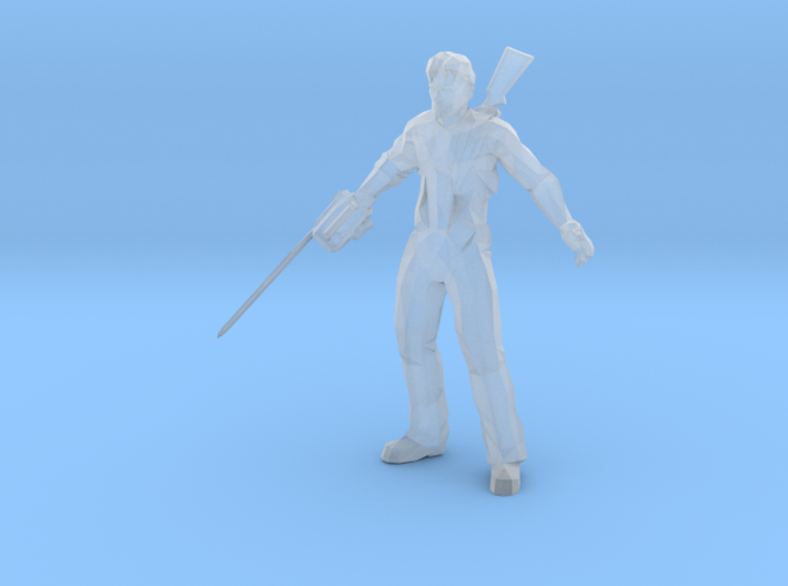 Ash Evil Dead 1/60 miniature for games and rpg 3d printed