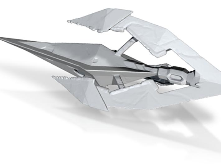 Tholian-Battleship 3d printed