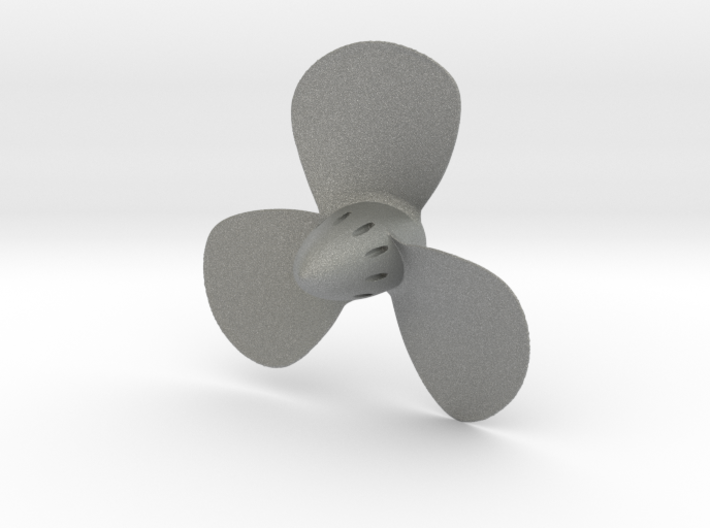 Titanic 3-Bladed Centre Propeller - Scale 1:87 3d printed