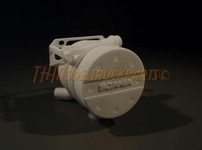 THM 00.4201 Tamiya Scania exhaust 3d printed