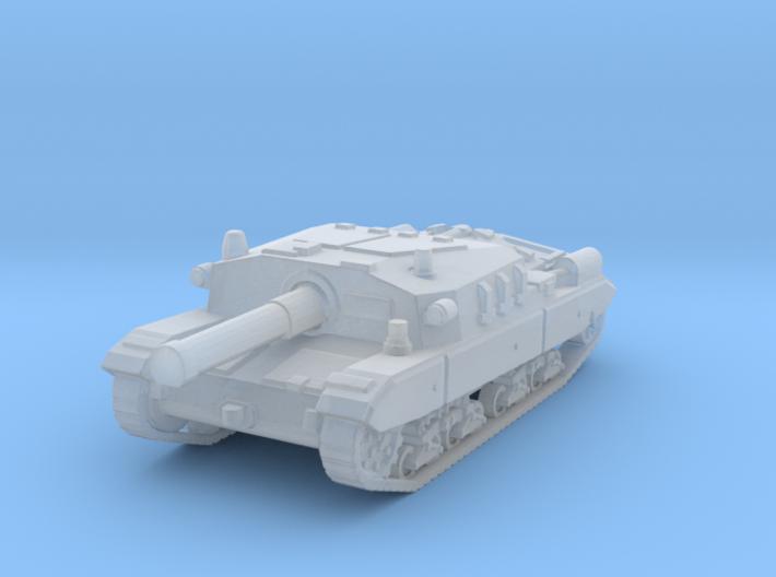 Semovente M43 105 1/144 3d printed