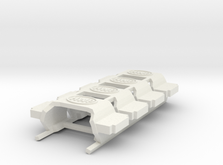 HWP SL2/BW1 AFX magnatraction Body Clips 4-Pack 3d printed
