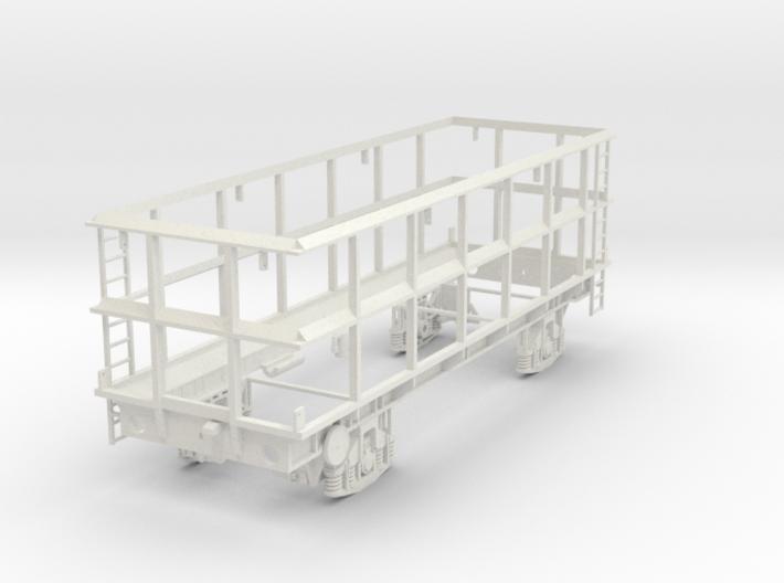 7mm POA Scrap wagon Empty 3d printed