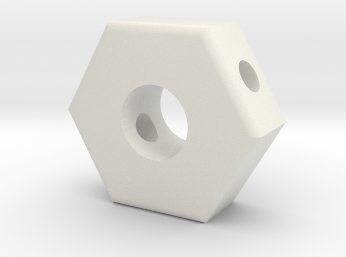 T6 Friction Knob Backing Plate #1 3d printed