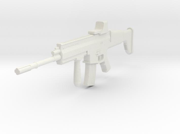 1:6 Miniature FN Scar Mk16 Gun 3d printed