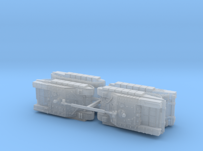 Russian BMO-T Heavy APC 1/200 3d printed