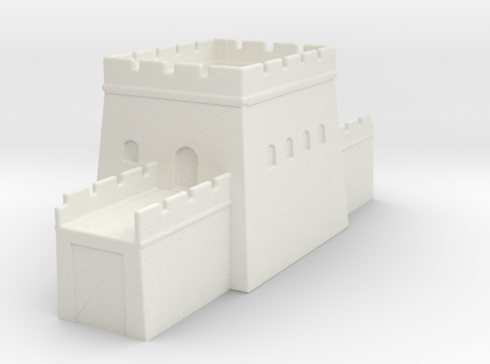 the grat wall of china 6mm 1/285 tower l 3d printed