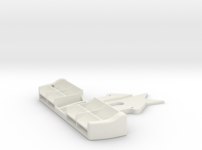 Mini-Z F1 front wing (for Kyosho chassis) 3d printed