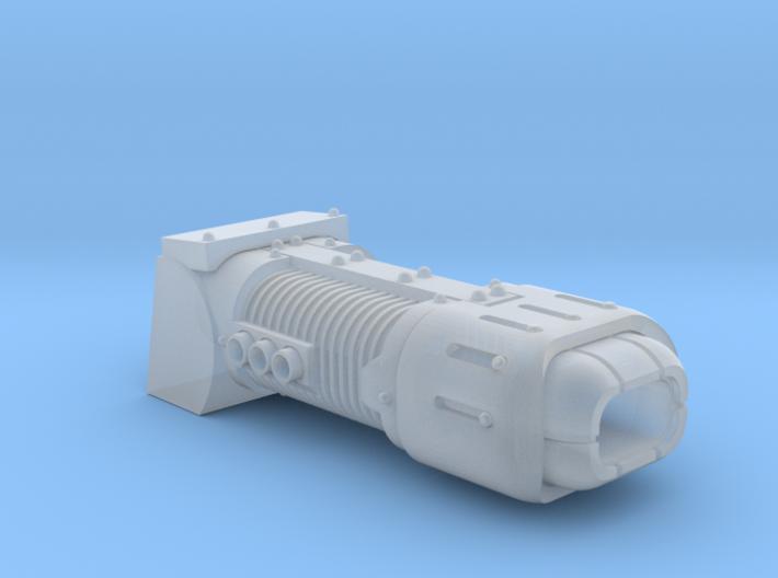 Vegaram SteamRuss Turret Weapon: Plasma-cutioner 3d printed