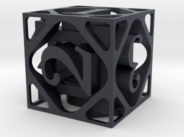 D&D DICE 3d printed
