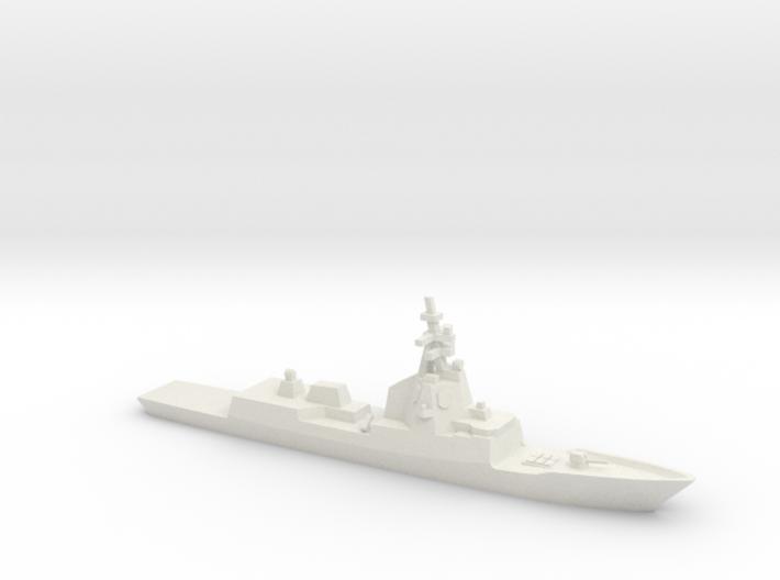 ESPS Álvaro de Bazán-class Frigate, 1/1250 3d printed