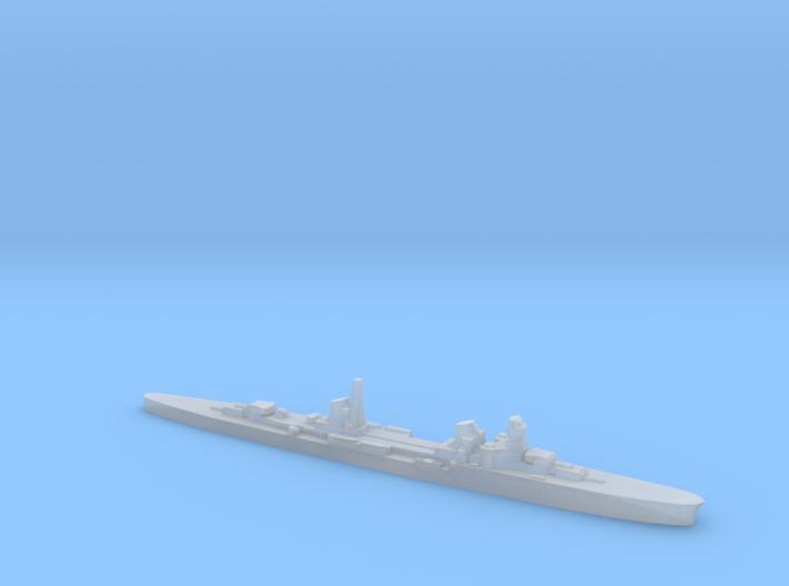 Duca d'Aosta light cruiser 1:3000 WW2 3d printed