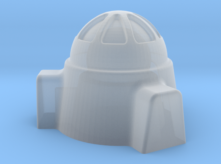 2mm / 3mm Domed Building 3d printed