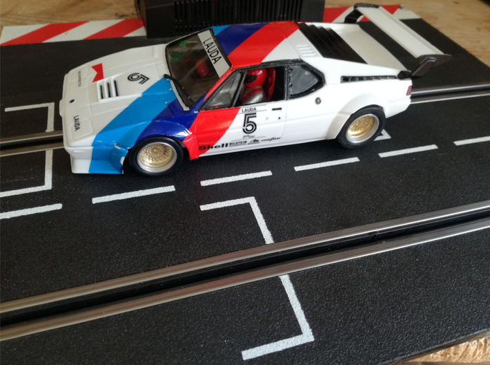 Chassis 124 M1 Procar Revell 18D 3d printed